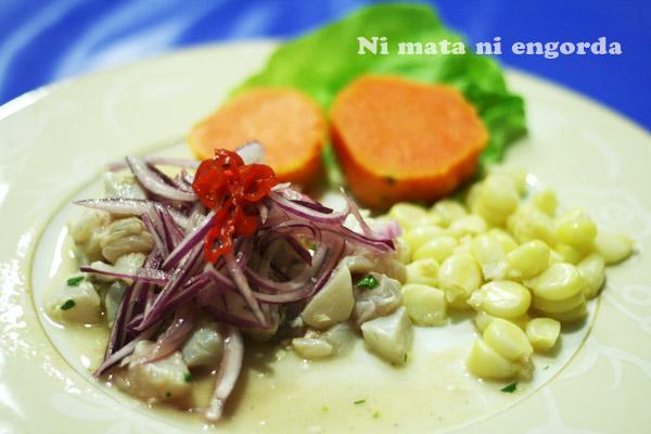 Cebiche Peruano De Corvina Paso A Paso